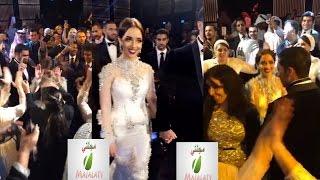 """""""بلقيس"""" تحيي حفل زفافها بالزفة المغربية وبطرق غريبة.. إليك الفيديو !"""