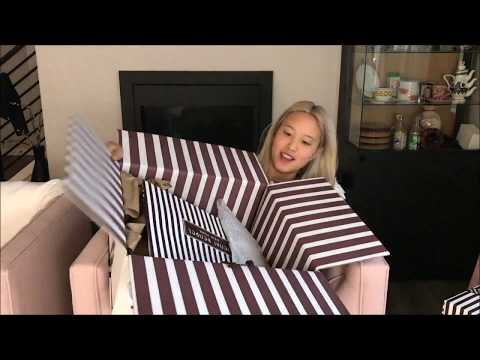 Unboxing from Henri Bendel. Gift packaging is beautiful!
