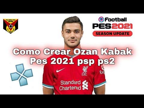 como-crear-a-ozan-kabak-pes-2021-psp-ps2-wii