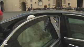 A grand exit: Pope Benedict steps down