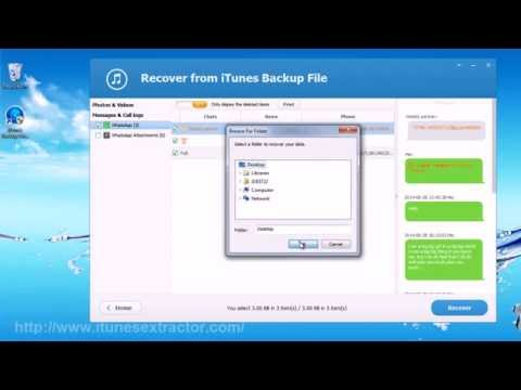 How to Backup/Extract WhatsApp Messages from iPhone to PC