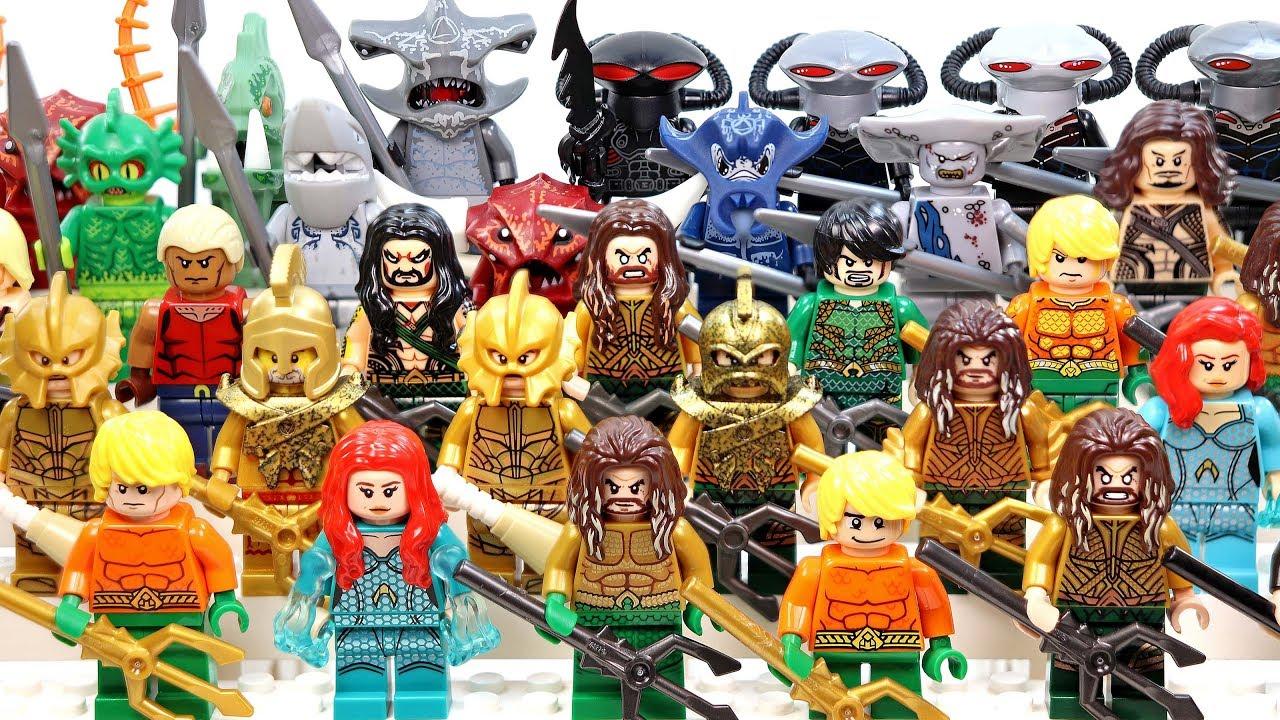 Aquaman Full movie: Aquaman Lego Minifigure