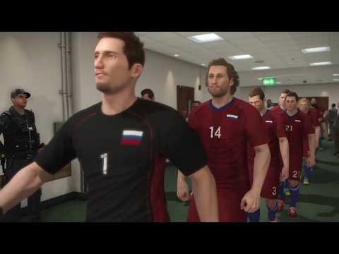 Pro Evo 17 - World Cup - Russia vs Burkina Faso - Preliminary Round Game 3
