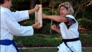 How To Break Wooden Boards -- Karate Style