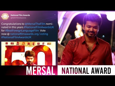 Mersal Movie Is Nominated For The National Awards In UK-Best Foreign Release Movie-A Vertical Video!