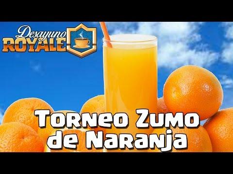 Torneo Zumo de Naranja | Desayuno Royale | Clash Royale con TheAlvaro845 | Español