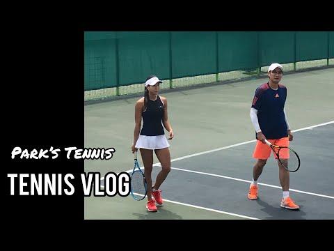 [박혜연테니스] 박남매 테니스 꿀잼 게임영상   랠리영상   테니스브이로그