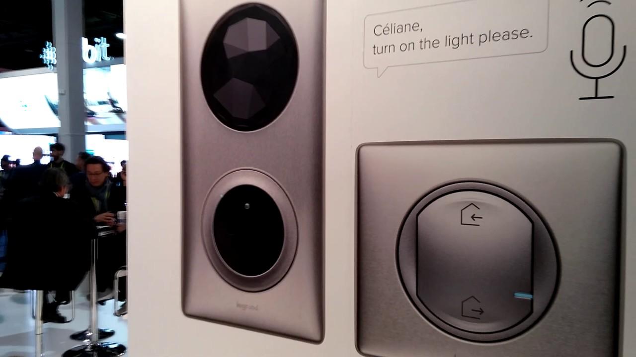 c liane with netatmo legrand rentre dans la smarthome diy au ces 2107 youtube. Black Bedroom Furniture Sets. Home Design Ideas