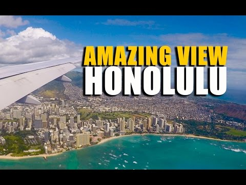 Hawaii | Amazing Honolulu View | From Diamond Head to HNL