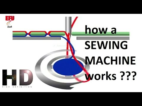How A Sewing Machine Works In Slow Motion HD YouTube Classy How Does A Sewing Machine Work