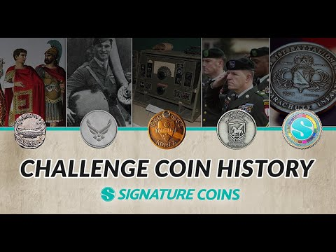 What Is A Challenge Coin? The History Of Challenge Coins  By Signature Coins
