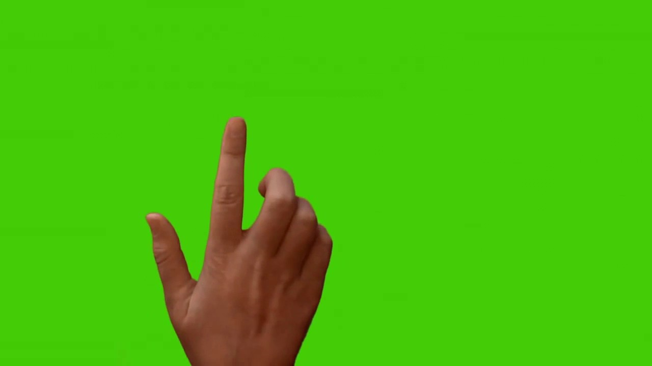 Croma Pantalla Verde Dedo Pantalla Tactil Para Fotos Y