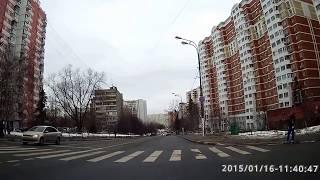 Разворот Грина-Коктебельская. Экз. маршрут Северное Бутово.