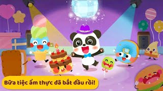 Babybus games | decorate food game | games for children
