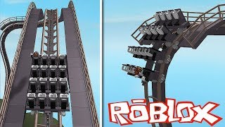 THE MOST CRAZY ROBLOX ROLLER COASTER!