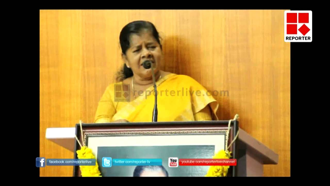 Mercykutty Amma storms against advocates in kerala