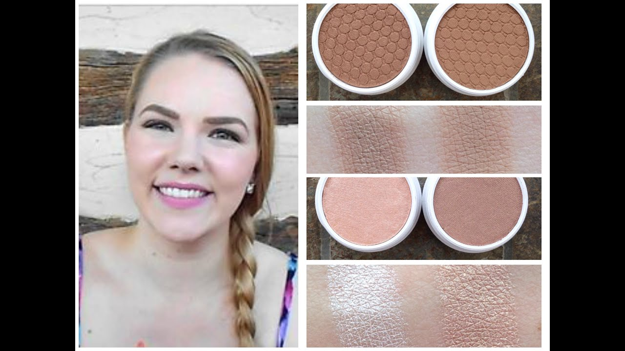 Colour Pop Bronzer & Highlighter Review How To Apply Bronzer Pale