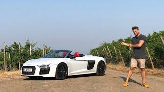 2018 Audi R8 Spyder V10 5.2 FSI Quattro Plus - Fahrbericht | Review | Test | Testdrive | Details |