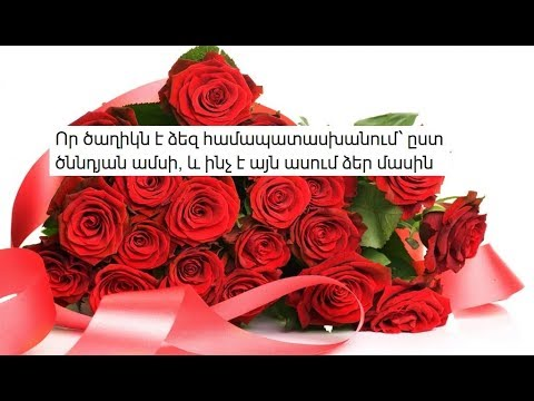 Որ ծաղիկն է ձեզ համապատասխանում՝ ըստ ծննդյան ամսի, և ինչ է այն ասում ձեր մասին