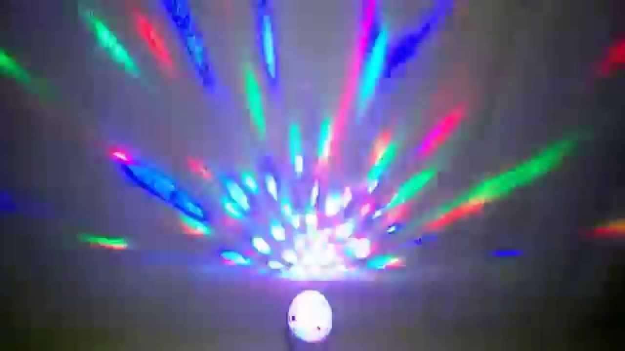 Discoteca en tu habitacion luz led youtube - Luces led para cuartos ...