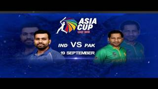 IND  V PAK | Asia Cup Promo | LIVE on DD Sports