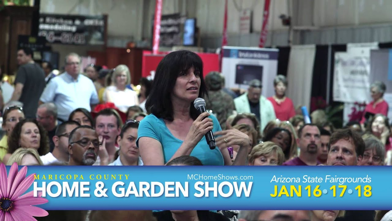 Maricopa County Home Garden Show 2015 Jan 16 17 18 Youtube