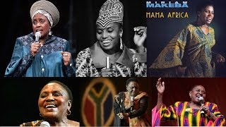 Miriam Makeba  (The voice of Africa)