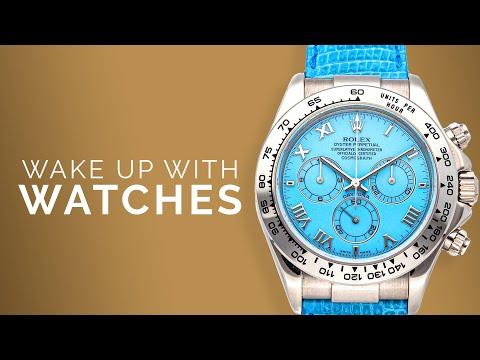 Rolex Daytona BLUE / White Gold: Omega Seamaster Diver 300M: F.P. Journe & Luxury Watches To Buy