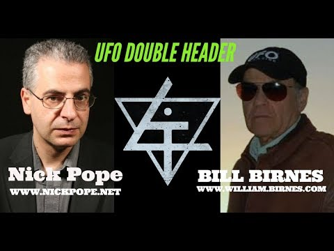 UFO Double Header With Nick Pope And Bill Birnes
