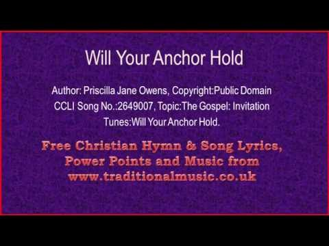 Will Your Anchor Hold(viola section) - Hymn Lyrics & Music