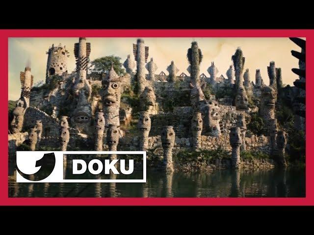 Dieser Mann lebt seinen Traum und erbaute sich (mit 60!) eine Riesenburg | Doku