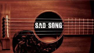 "[FREE] ACOUSTIC Trippie Redd x Xxxtentacion Type Beat ""Sad Song"" (Guitar Hip Hop Instrumental)"