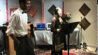 Sumukh & Ujwala Singing Falak Tak Chal