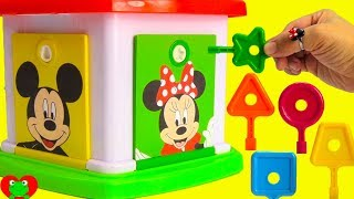 Mickey Mouse Clubhouse Friends Learn Counting and Colors with Lock and Key