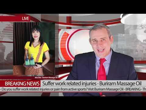 Best Buriram Sports Massage News Announcement December 2019
