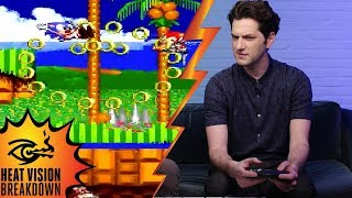 Ben Schwartz Plays 'sonic The Hedgehog 2' While Answering Hard Questions! | Heat Vision