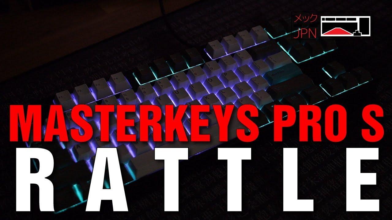 Cooler Master Masterkeys Pro S with Custom Keycaps