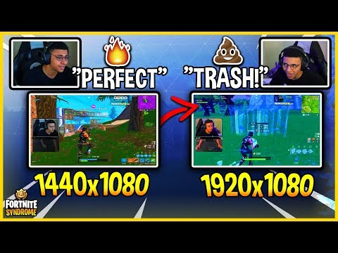 MYTH CHANGES RESOLUTION BACK TO DEFAULT! (**HE HATES IT**) - Fortnite Moments #169