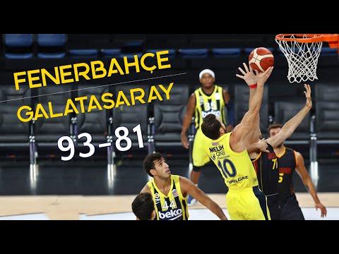 Fenerbahçe 93-81 Galatasaray (GENİŞ ÖZET)