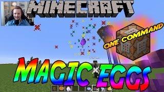 minecraft med softis magic eggs   one command   showcase