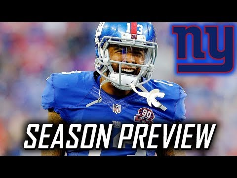 New York Giants 2017 NFL Season Preview - Win-Loss Predictions and More!