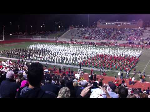 """2013 """"Fight Song"""", Coppell Combined Bands Marching Show"""