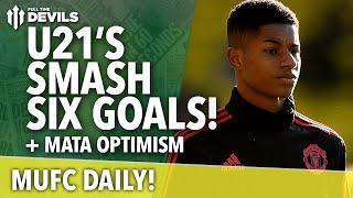 Video Gol Pertandingan Manchester United U-21 vs Leicester City U-21
