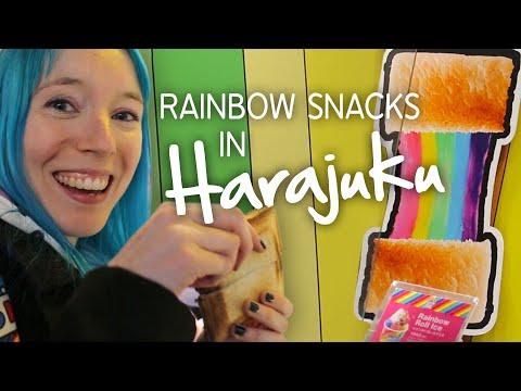 🌈 Kawaii Sweets & Snacks In HARAJUKU 🌈