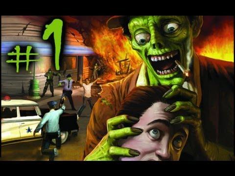 Прохождение Stubbs the Zombie #1 - Майкл восстал.