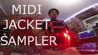 MIDI JACKET Superkid 4.1.  WEREABLE Music Instrument