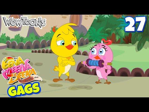 Eena Meena Deeka | New Gags 27| Funny Cartoons for Kids | Wow Toons