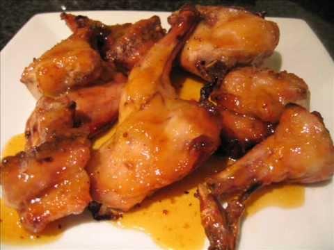 Conejo al horno con miel y mostaza receta de cocina - Solomillo de ternera al horno con mostaza ...