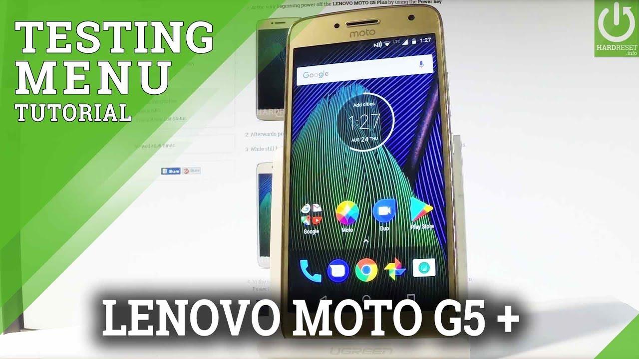 Codes MOTOROLA Moto G5S Plus - HardReset info
