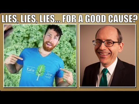 Lies, lies, lies! Mic. the Vegan & Dr. Greger.
